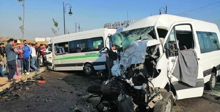Tanger : Trois  morts et 14 blessés dans un accident  de la circulation