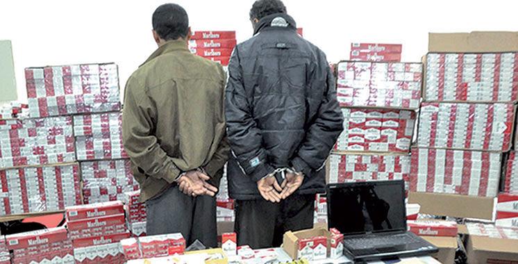 Agadir : Avortement d'une tentative  de trafic de plus de 337.000 cigarettes de contrebande