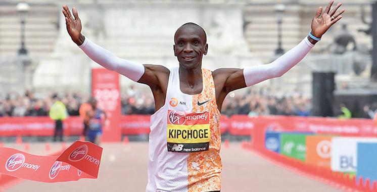 Le marathonien Kipchoge va réessayer de descendre sous la barrière de deux heures