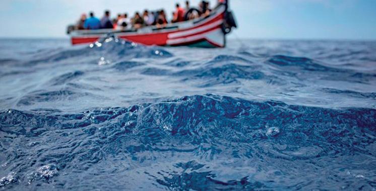 183 migrants secourus par les gardes-côtes de la Marine Royale