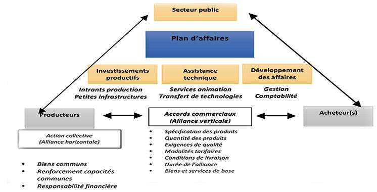 L'ADA teste les alliances productives  au Maroc