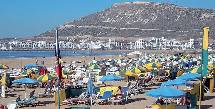 Les touristes marocains en tête des  arrivées à Agadir au 1er semestre 2019