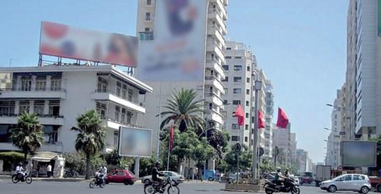 Affichage publicitaire dans la région Casablanca-Settat : La métropole de plus en plus prisée  par les annonceurs