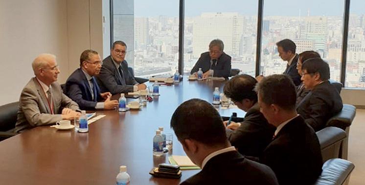 ONEE : Une série de rencontres d'El Hafidi à Osaka et à Tokyo avec des investisseurs nippons