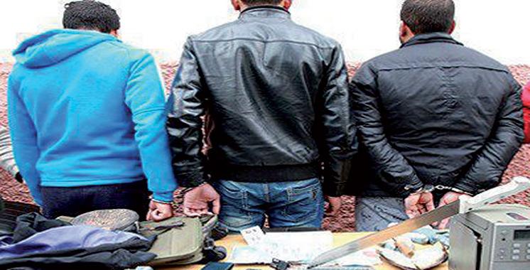 Séquestration, vol et menace à l'arme blanche : Trois individus arrêtés à Rabat