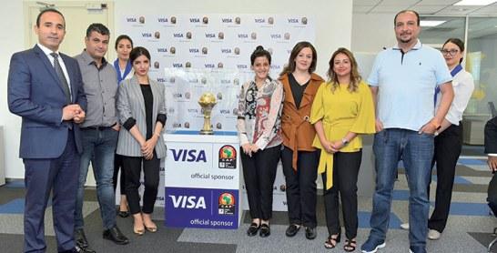 CAN 2019 : Le trophée en tournée au Maroc avec Visa