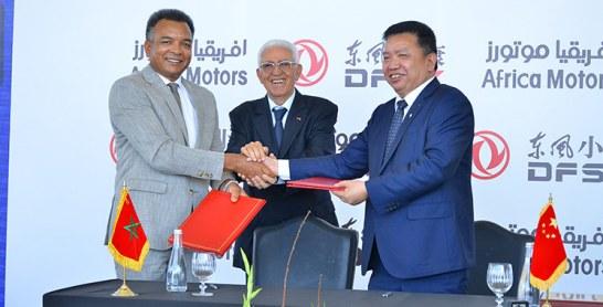 En vertu d'une convention signée par DFSK et Africa Motors : Des ventes prévisionnelles de 10.000 unités à partir de 2020
