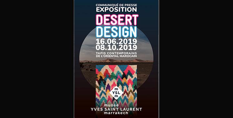 «Desert Design» exposition au Musée Yves Saint Laurent de Marrakech