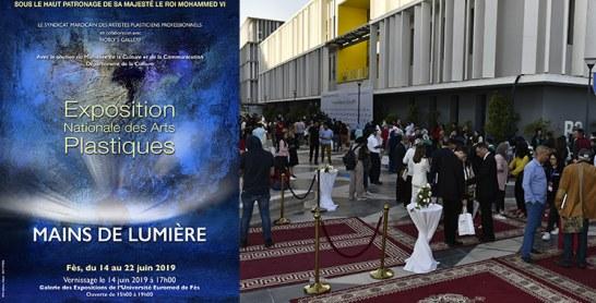 L'exposition «Mains de lumière» éblouit des étudiants et chercheurs