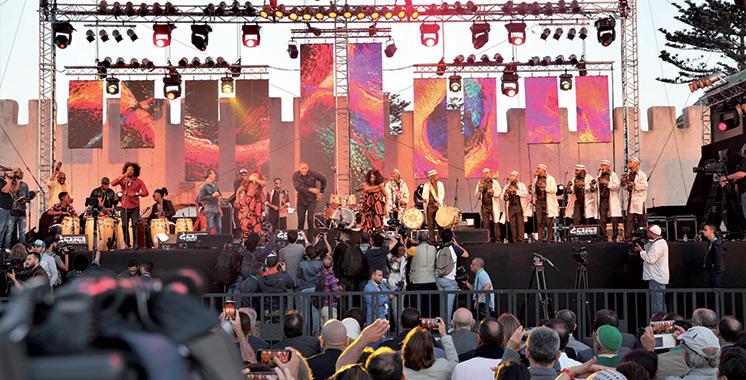 La 22ème édition livre son bilan : Des centaines de milliers de spectateurs  au Festival Gnaoua et Musiques du Monde