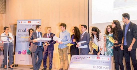 Entrepeneuriat : Franc succès de la 3ème édition du Challenge franco-marocain
