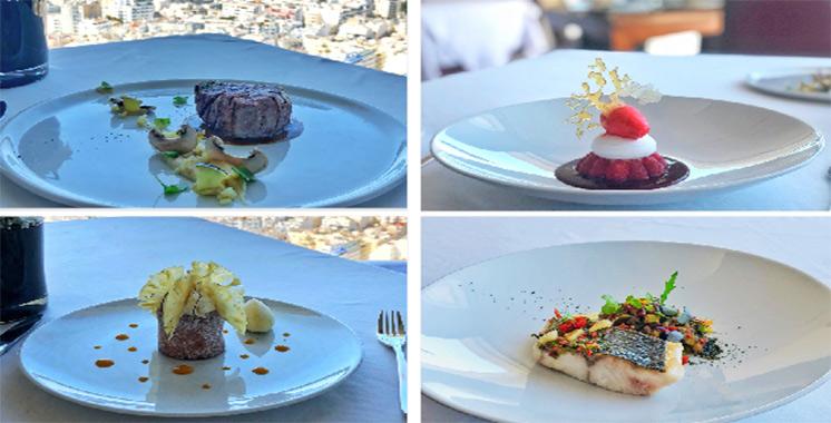 Kenzi Tower Hôtel: Restaurant Sens, une carte joliment revisitée