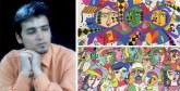 Dr Hamza Achour migre de l'art naïf au brut