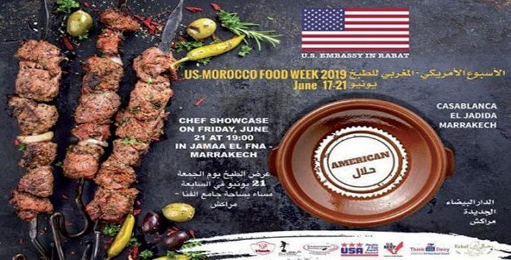 La Semaine culinaire américaine marocaine se poursuit jusqu'au 21 juin