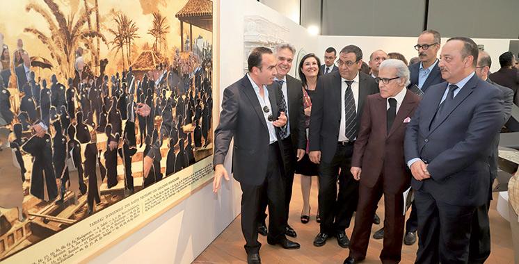 «Miroir collectif» au musée de BAM : Une exposition qui s'ouvre par le portrait  de Feu SM Mohammed V