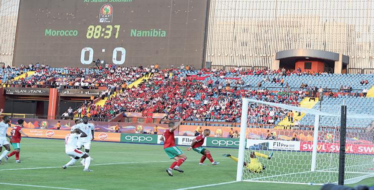 Une victoire difficile mais précieuse : Le Maroc bat la Namibie au forceps