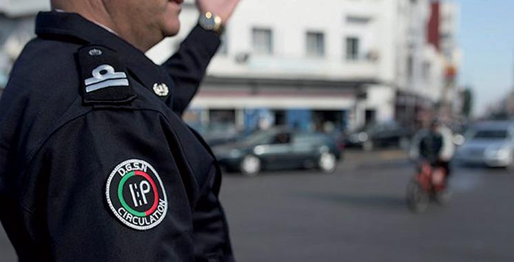 Tétouan : Interpellation d'un policier impliqué dans un accident de la  circulation en état d'ivresse