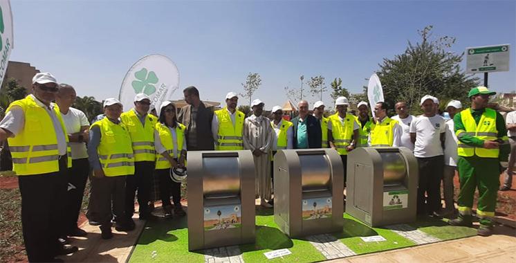 Collecte des déchets : Meknès met en valeur les plates-formes enterrées hydrauliques