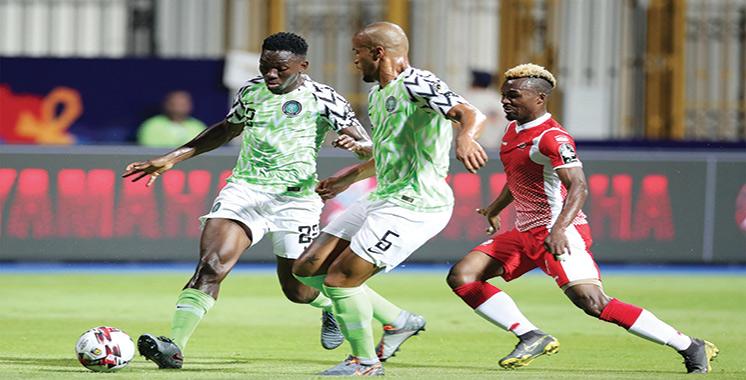 Groupe B : Le Nigeria difficilement