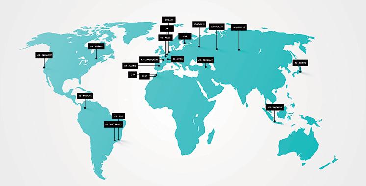 «42 Network» : L'école 1337 d'OCP unique campus africain du réseau nouvellement créé