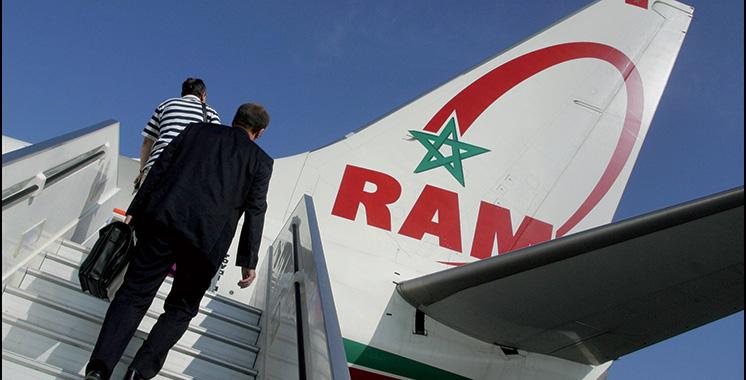 RAM : Une base aérienne de 400.000 sièges  à Laâyoune