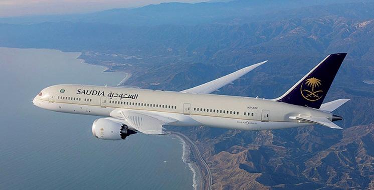 Saudi Airlines : Première ligne directe Jeddah-Marrakech