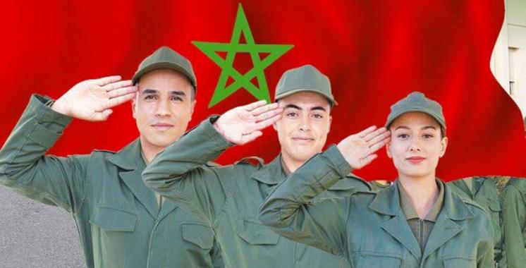 Service militaire : 133.820 jeunes ont postulé volontairement à travers la plateforme digitale tajnid.ma