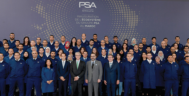Véritable valeur ajoutée pour l'industrie automobile : L'écosystème PSA en marche
