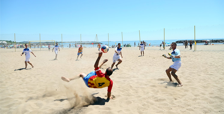 El Jadida : OCP organise dimanche la finale de son championnat de beach soccer