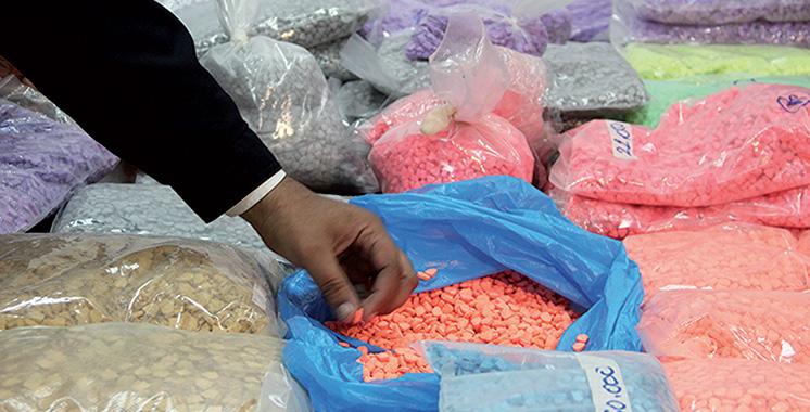 Guercif : Saisie de 48.800 comprimés d'ecstasy et trois arrestations