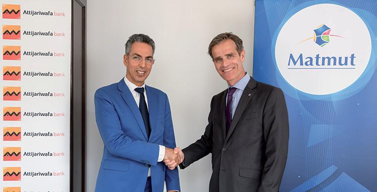 Solutions d'assurance dommages : Attijariwafa bank Europe proposera des produits de la Matmut à ses clients en France