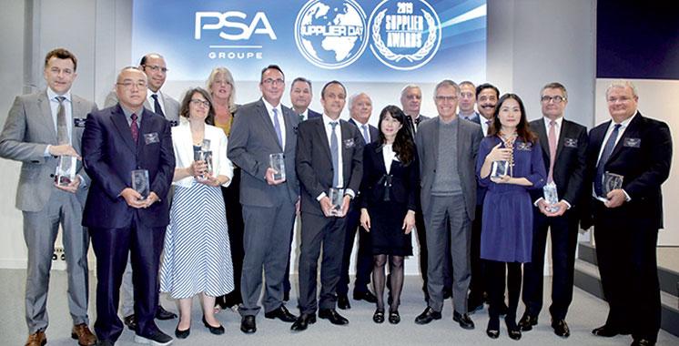 Partenaire du Groupe PSA au Maroc : La société SGTM primée pour ses performances
