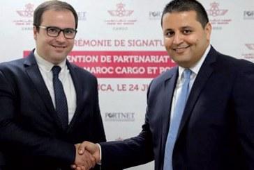 Fruit d'un partenariat entre RAM Cargo et PortNet : E-Freight, les services du guichet unique étendus au fret aérien