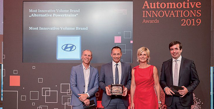 Automotive Innovations 2019 : Hyundai Motor rafle deux grands prix