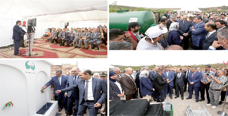 Aziz Akhannouch visite plusieurs projets  dans la région Fès-Meknès