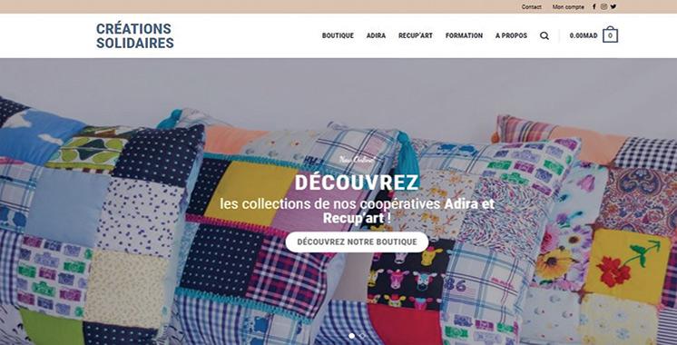 «Créationsolidaires.ma» : Une nouvelle vitrine digitale pour les produits artisanaux