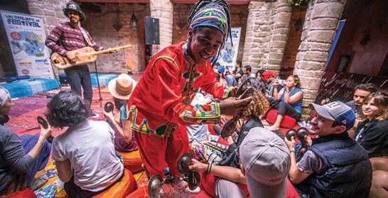 Festival des jeunes talents Gnaoua :  La jeunesse et la transmission à l'honneur