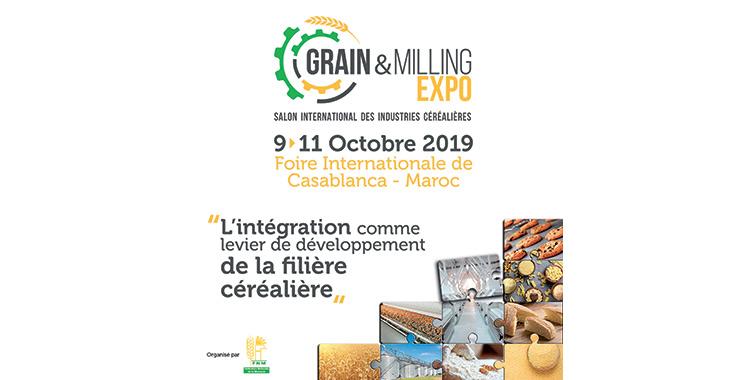 «Grain & Milling expo» du 9 au 11 octobre à Casablanca