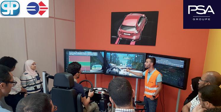 Maîtrise du risque routier : PSA sensibilise 600 collaborateurs casablancais