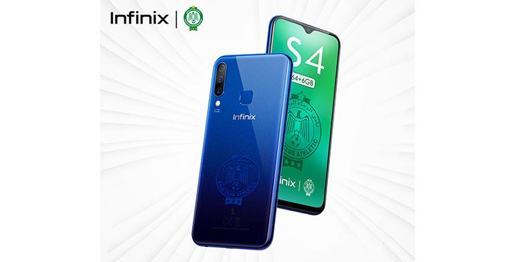Infinix lance  «S4 Raja  Edition» pour  les passionnés  des Verts