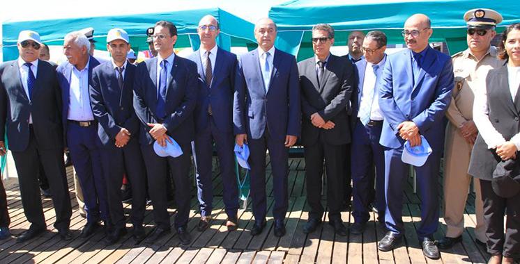 La plage de Bouznika hisse le Pavillon Bleu  pour la 13ème année consécutive