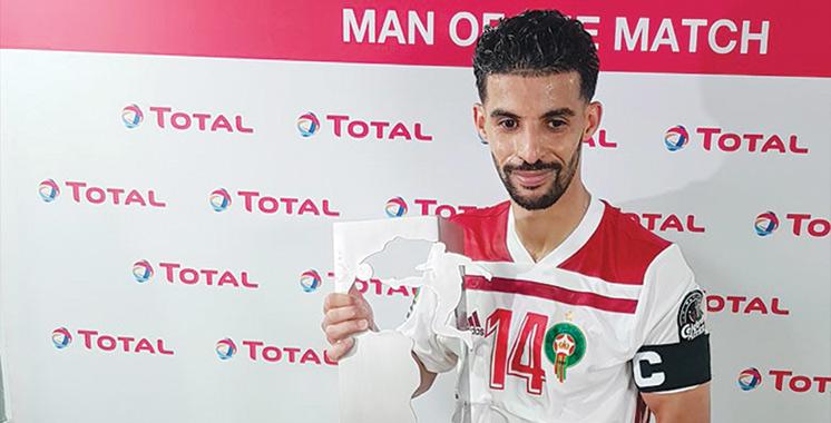 Mbark Boussoufa, homme du match pour la 2ème fois