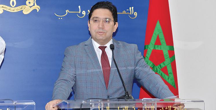 Nasser Bourita durcitle ton à Dakhla : Pasde processus politique avec les gangs!