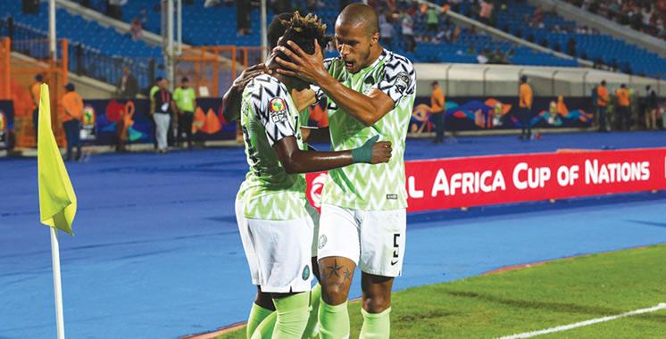 Quarts de finale : Le Nigeria  se qualifie dans la douleur