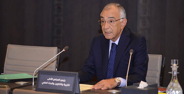 Fin du premier mandat du Conseil :  Omar Azziman défend son bilan