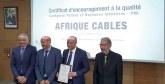 Prix national de la qualité : Super Cérame et Afrique Câbles d'Ynna Holding consacrées