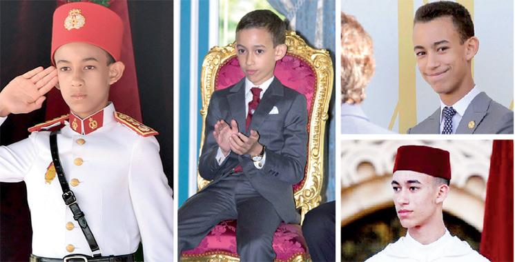 Moulay El Hassan, un prince héritier déjà au front