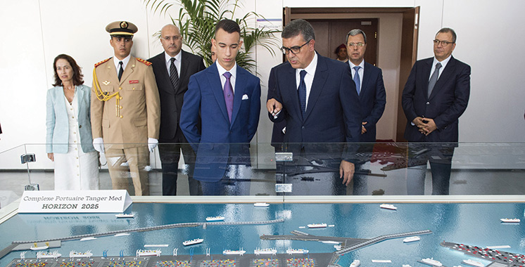 Les opérations portuaires  de Tanger-Med II lancées