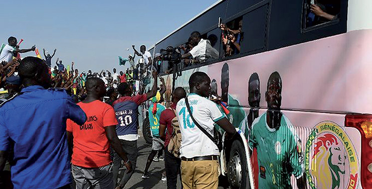 Une traversée de Dakar triomphale pour les Lions du Sénégal