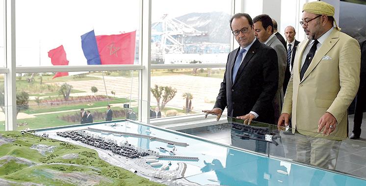 Tanger Med : Le plus grand port d'Afrique  au nord du maroc